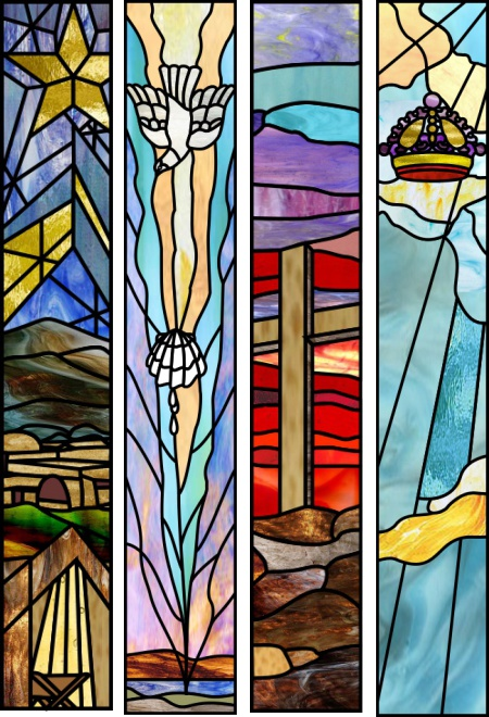 Free Gospel Stained Glass Patterns Stained Glass