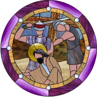 Station VII of the Cross - Christ falls a second time