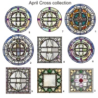 April cross collection (9 patterns)