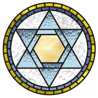 Hebrew star mandala 1