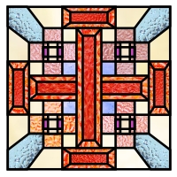 CROSS - Jerusalem cross